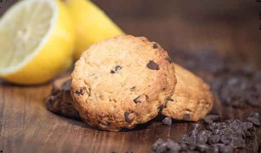 Cookie citron - chocolat
